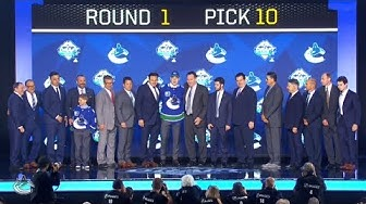 Vancouver Canucks Select Vasily Podkolzin 10th Overall at 2019 NHL Draft