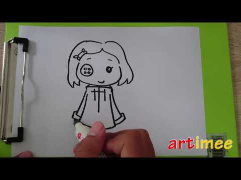 How To Draw Coraline