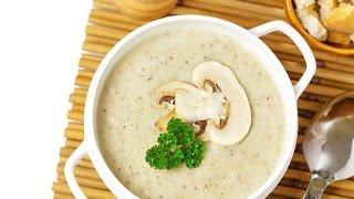 Рецепт французского Супа из шампиньонов