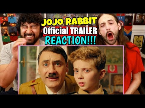 JOJO RABBIT | TRAILER - REACTION!!! (Taika Waititi)