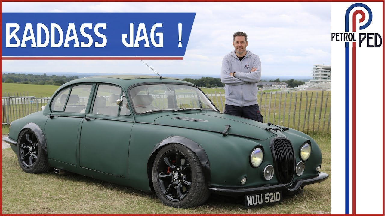 Straight Pipe Supercharged V8 Mk2 Jag *UTTERLY BONKERS*