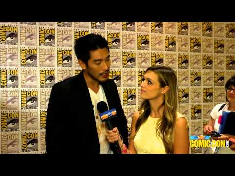 Godfrey Gao Talks Surprises in The Mortal Instruments  City of Bones   2013 Comic Con