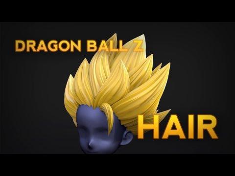 Dragon Ball Z Hair Creation