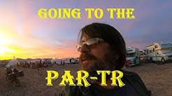 Par-TR In Quartzsite, AZ - We're On Our Way to Scadden Wash!