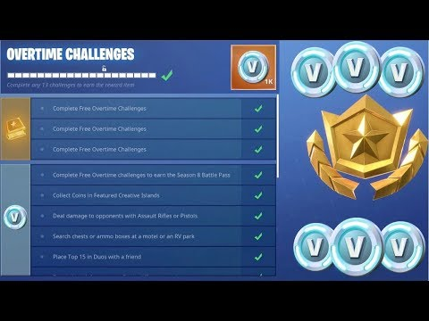 Fortnite Free Overtime Challenges Code D Acces Fortnite Mobile