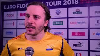EFT 2018 | Rozhovory po utkání Finsko - Švédsko