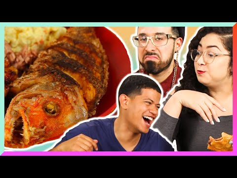 Latinos Try Belizean Food For The First Time