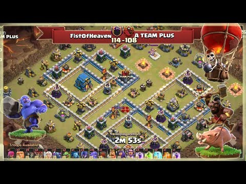 FistOfHeaven VS A TEAM PLUS | TH12 War Recap #91 | After UPDATE | Clash Of Clans | 2018 |