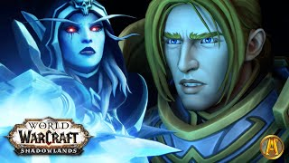 Jailer & Vol'jin Make Sylvanas Warchief - All Cutscenes [World of Warcraft: Shadowlands]