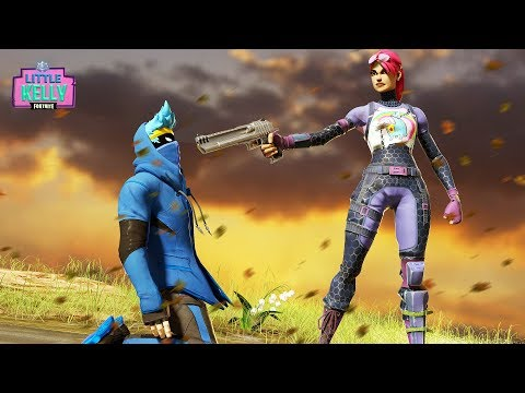 LITTLE KELLY HAS NO CHOICE BUT TO ELIMINATE NINJA | Fortnite Short film