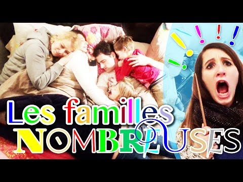 LES FAMILLES NOMBREUSES - ANGIE LA CRAZY SÉRIE -