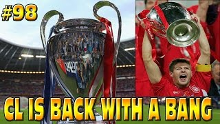 FIFA 15 LIVERPOOL CAREER MODE: CL IS BACK WITH A BANG!! #98
