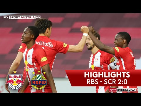 tipico Bundesliga, 23. Runde: FC Red Bull Salzburg - SK Rapid Wien 2:0