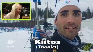 Gambar cover Kaisa discovers how much Finnish can the biathlon family speak