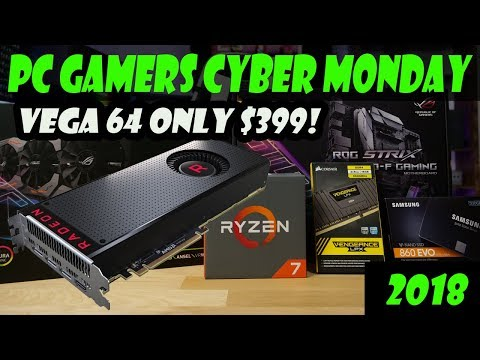 Top 10 Crazy Cyber Monday Deals for PC Gamers!!!