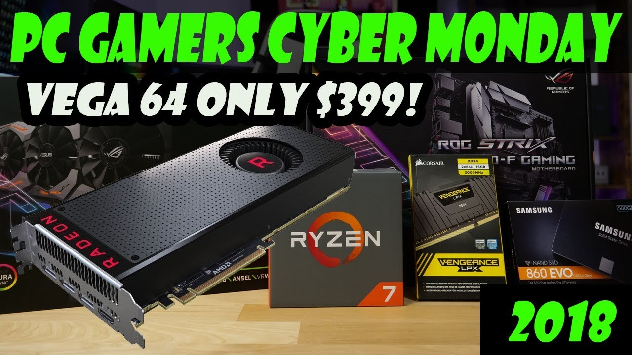 Top 10 Crazy Good Cyber Monday Deals For Pc Gamers Youtube