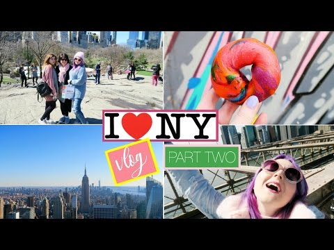 NEW YORK VLOG PART 2 // CENTRAL PARK, BROOKLYN, ALL THE VIEWS