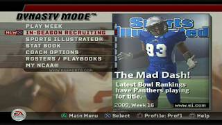 TROPHIES AND STATS - EASTERN ILLINOIS DYNASTY - NCAA FOOTBALL EP68