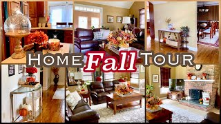 FALL HOUSE TOUR 2019 | Decorate with Me