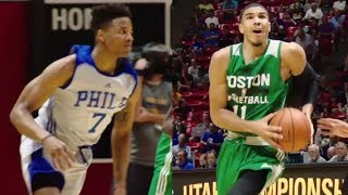 1st Round Duel: Tatum, Fultz Come Up Big In Debuts