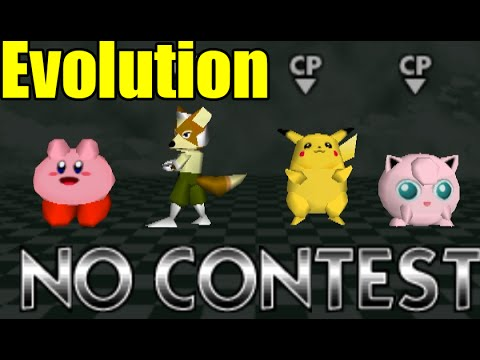 Every Smash Bros Clapping and Evolution of Clapping Animations (Smash Bros Series_