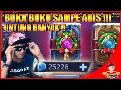 ABISIN 25.000 DIAMOND UNTUK BUKA BUKU SULTAN ! - Mobile Legends Indonesia
