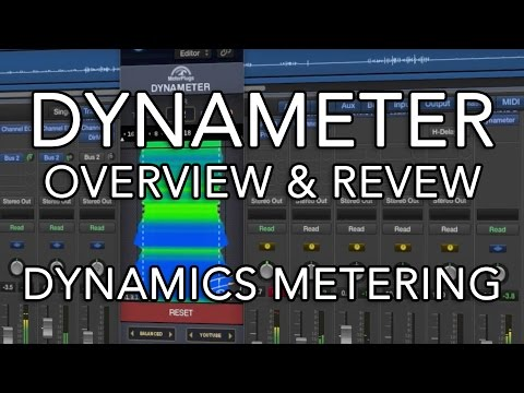 Dynameter Dynamics Metering (Plug-in Overview & Review)