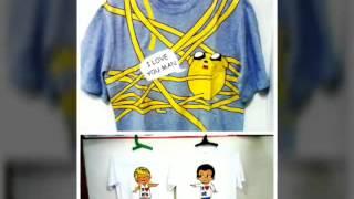 Печать на футболках от
