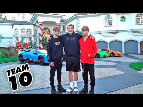 THE DOBRE TWINS ARE MOVING BACK INTO THE TEAM 10 MANSION?!