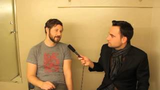 Dan Mangan Interview with Vincent Jones - Kelowna Community Theatre - November 8th, 2012