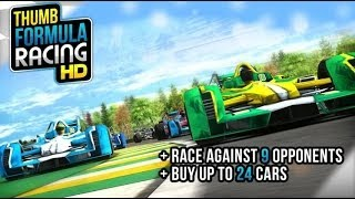 Thumb Formula Racing - Android Gameplay