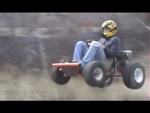 Homemade Go-Karts And Mini Bikes - YouTube