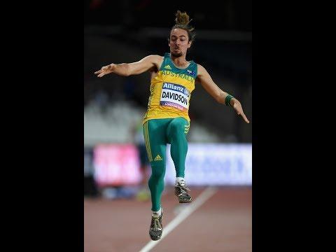 Brayden Davidson|Bronze Men's Long Jump T36|Final|London 2017 World Para Athletics Championships