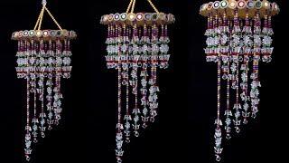 Best Reuse Ideas !!! Beautiful Pearl Wall hanging Idea - Wall Decor Idea || DIY Craft Idea