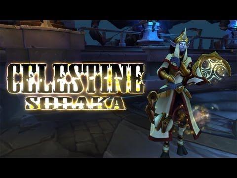 League Skins - Celestine Soraka (Ability Effects, Animations & Emotes)