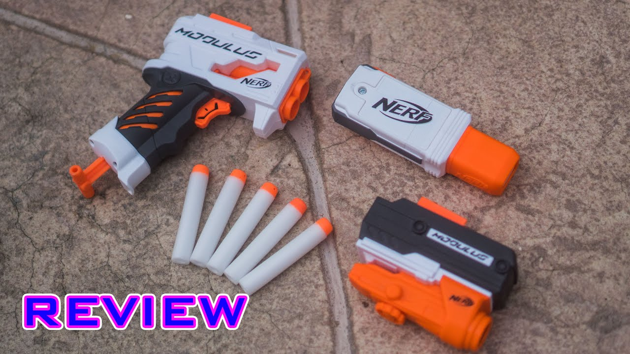 Review Nerf Modulus Accessories Grip Blaster Tactical