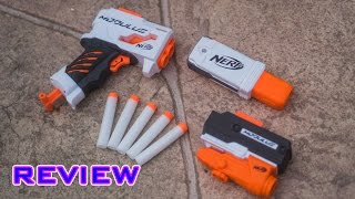 review nerf modulus accessories grip blaster tactical light targeting light beam