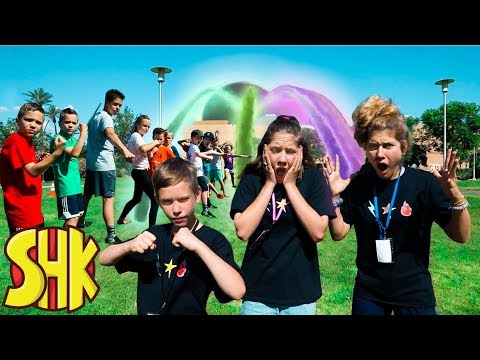 Escape The Black Hole! Searching For Sneaky Mystery Villain W Sneak Attack Squad