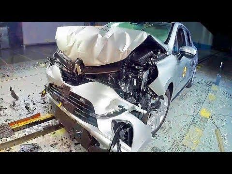 RENAULT CLIO 5 (2019) Safest Small Car? CRASH TEST