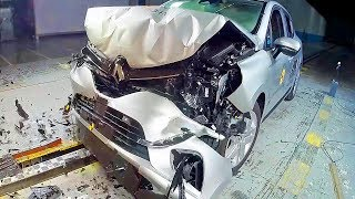 RENAULT CLIO 5 (2019) Safest Small Car? CRASH TEST