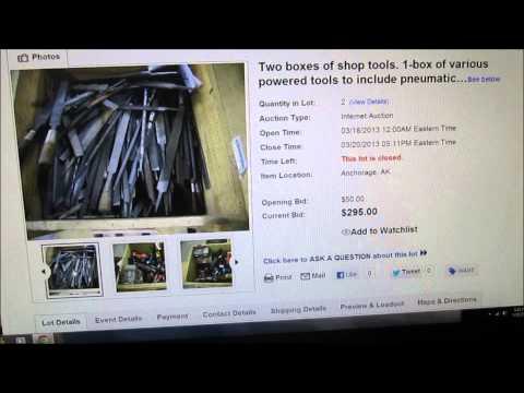Alaska Picker - 2 Boxes Of Tools