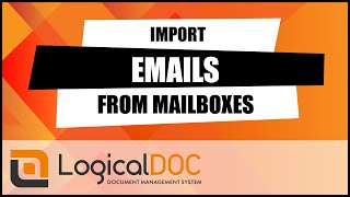 Import email from mailboxes