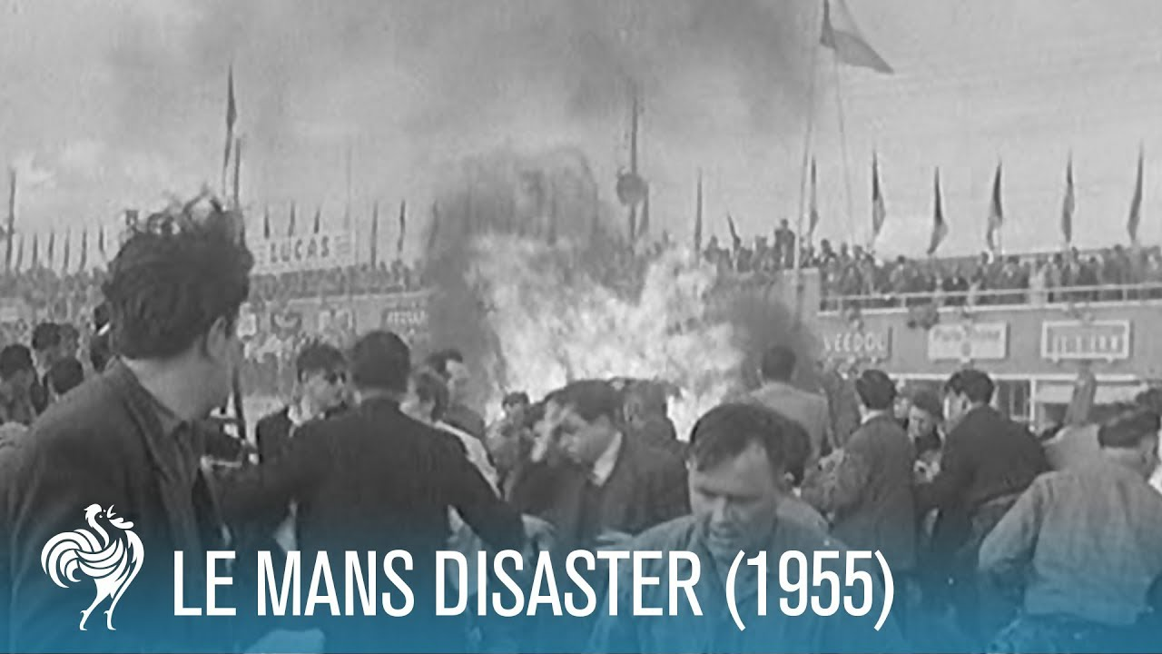 Le Mans Motor Racing Disaster (1955) | British Pathé