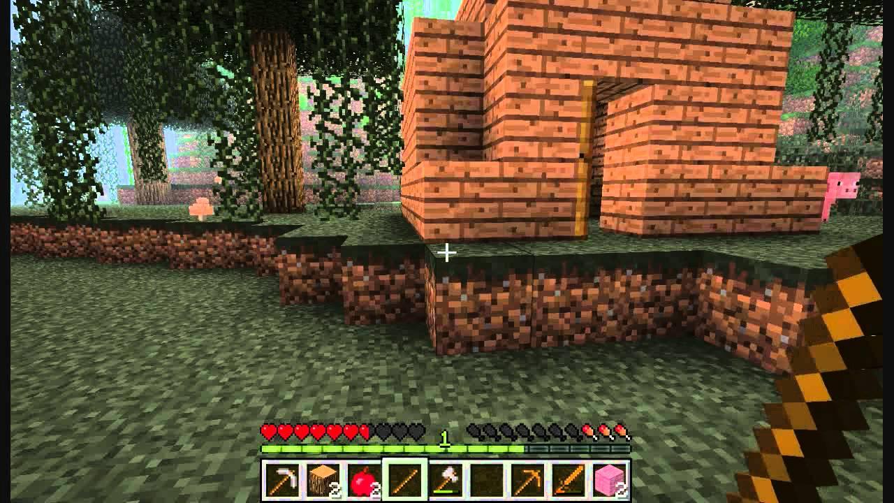 Survival world t2 episodio 1 la peor casa de minecraft - La casa de la manpara ...