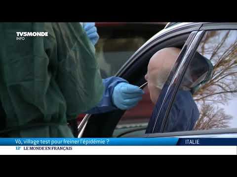 Coronavirus en Italie: Vo, un village test pour freiner l'épidémie ?