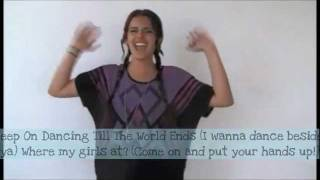 Backseat/Till the World Ends/Where Dem Girls at?/Blow Mashup -Cimorelli with lyrics