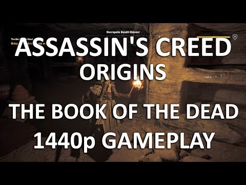 Assassin's Creed Origins - The Book of the Dead - 1440p Gameplay