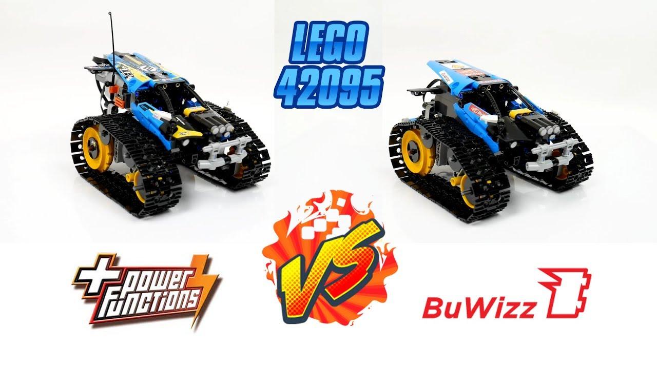 LEGO 42095: Power Functions VS BuWizz - YouTube