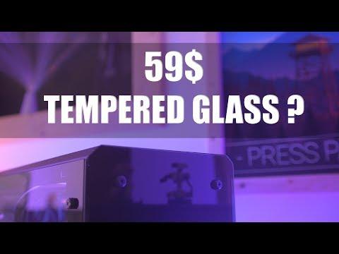 BEST 60$ TEMPERED GLASS PC CASE ! DIYPC Illusion I