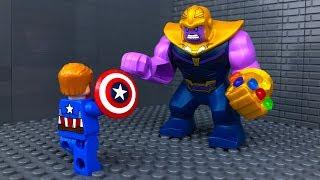 LEGO Avengers Infinity War 🔴 THANOS vs Captain America